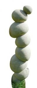 Skulptur in Lecceser Kalkstein