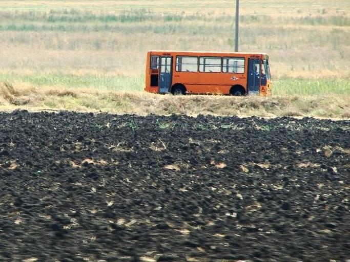 Überland-Bus