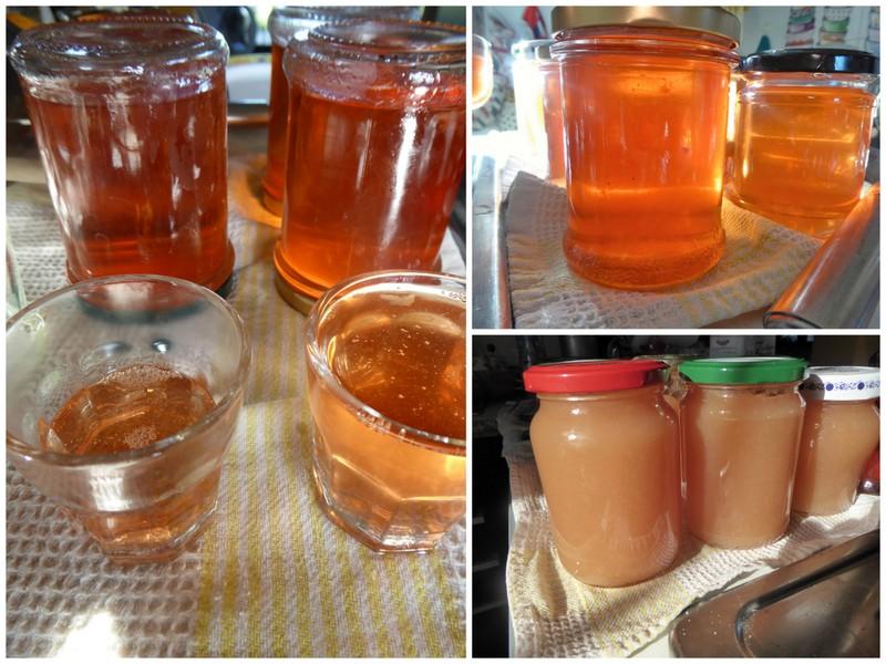 Quittengelee und Marmelade