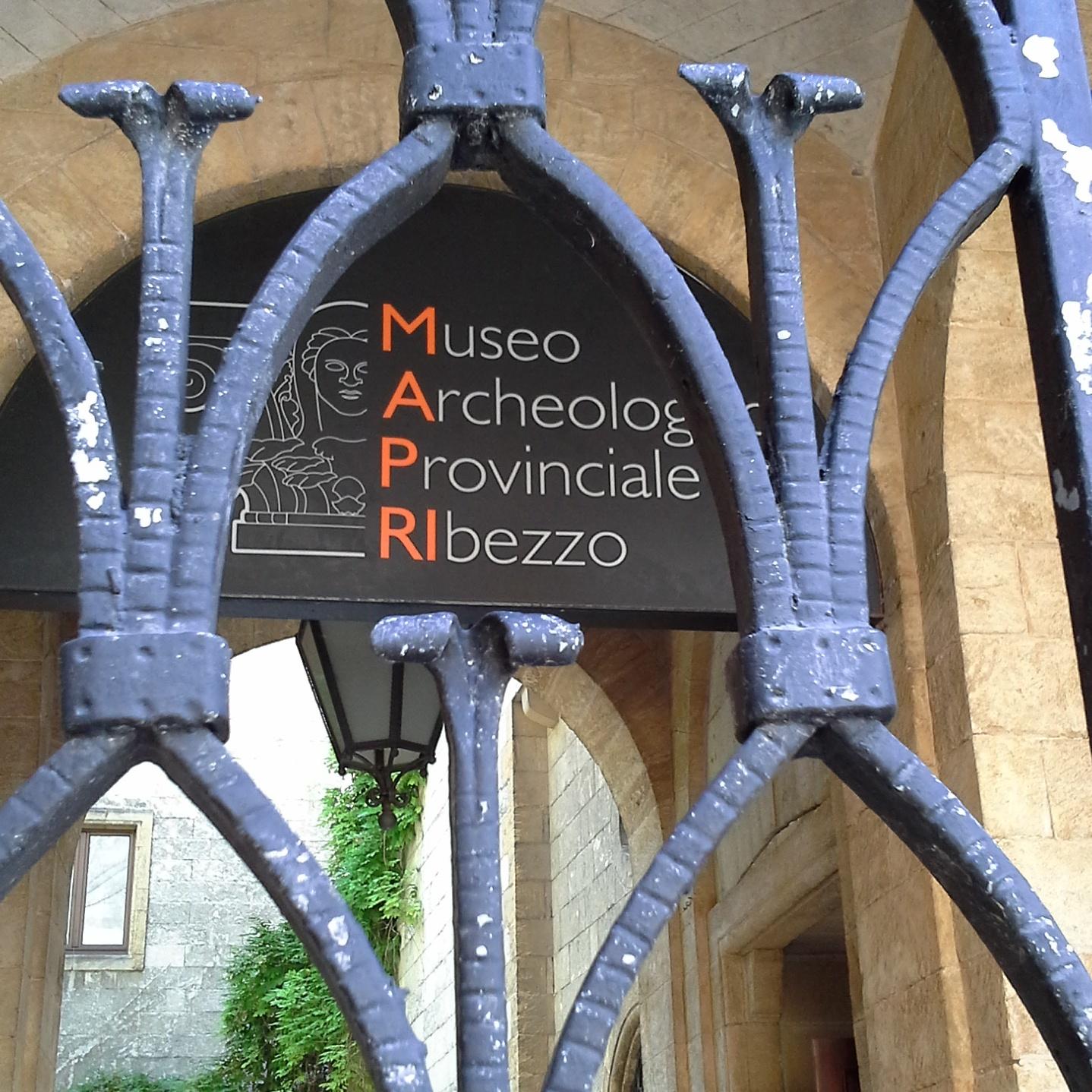 Eingang zum Museum Ribezzo Brindisi