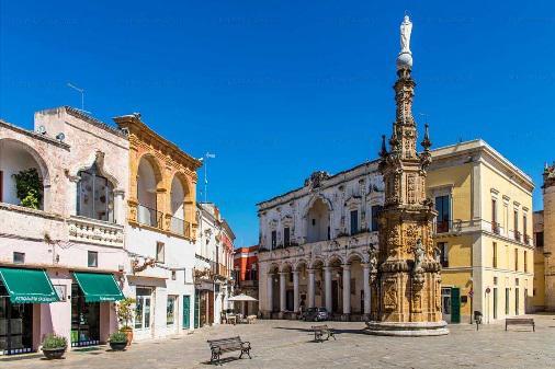 Die Piazza von Nardo', Foto R. Franken