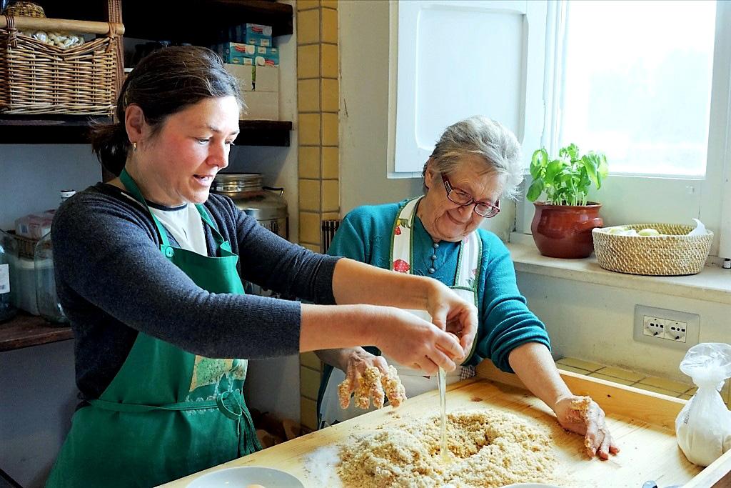 Ute Palmisano macht Pasta